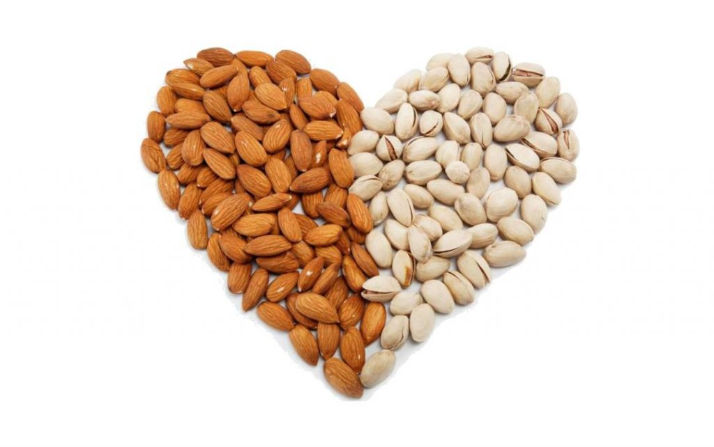 nuts good for heart health