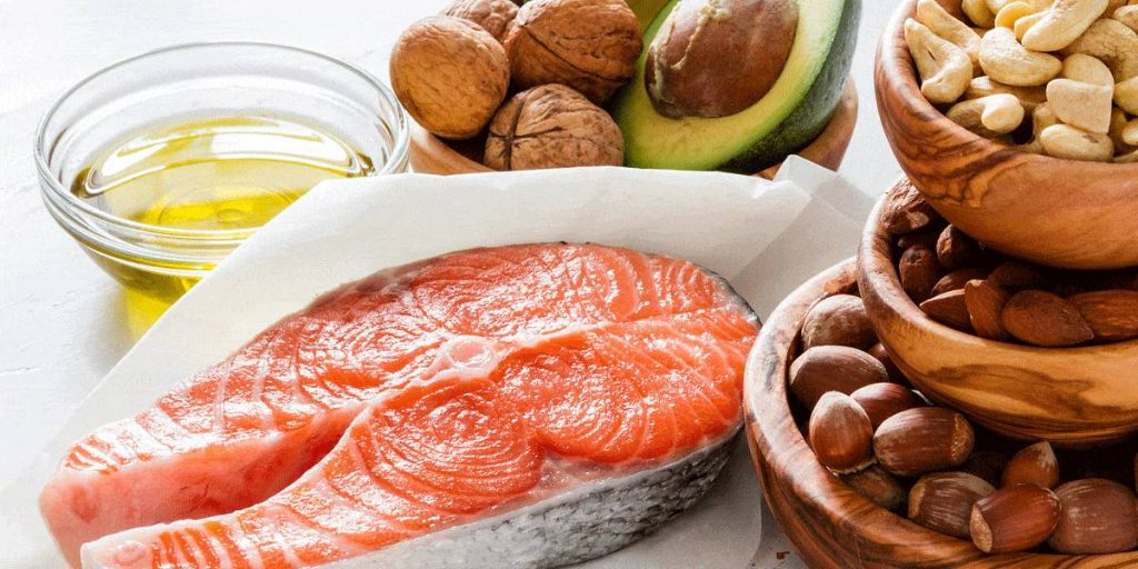 foods for high blood pressure salmon and nuts