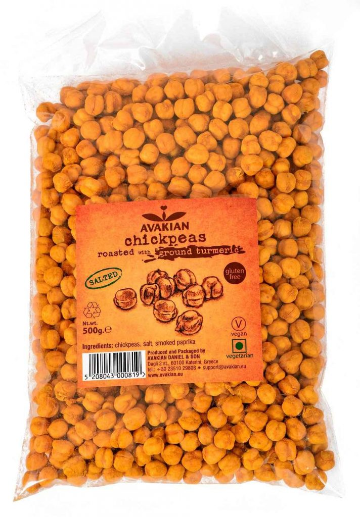 avakian chickpeas with turmeric roasted and salted