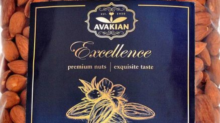 Avakian Healthy Snacking Almonds
