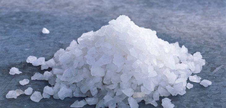 a pile of salt